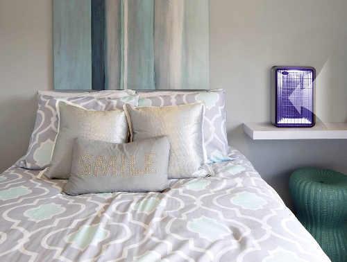 Elektrický UV lapač hmyzu do ložnice