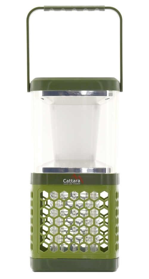 Lampička s elektrickým lapačem hmyzu