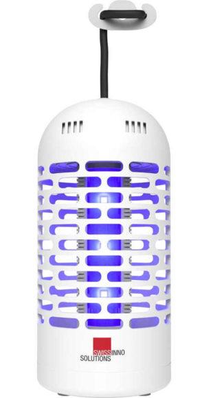 Malý závěsný UV lapač hmyzu na terasu