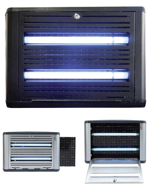 UV lapač hmyzu s lepicí fólií Insect-O-Cutor Halo 30