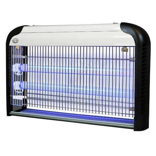 Lapač hmyzu s UV zářivkou v moderním provedení