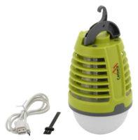 Nabíjecí světelný lapač na hmyz