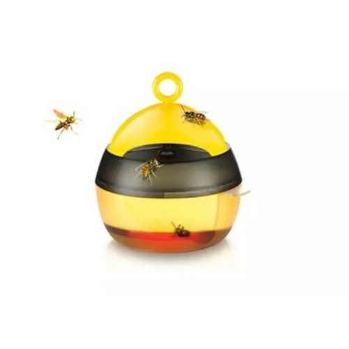 Praktický lapač na vosy v černo-žlutém designu