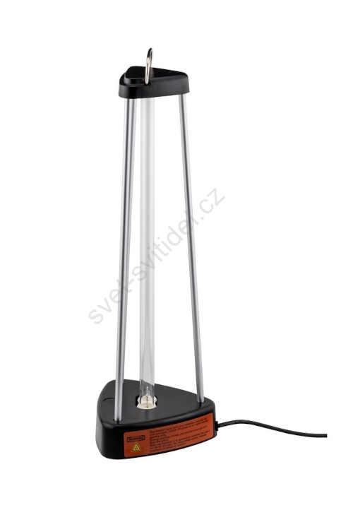 efektivní sterilizace místnosti lampou