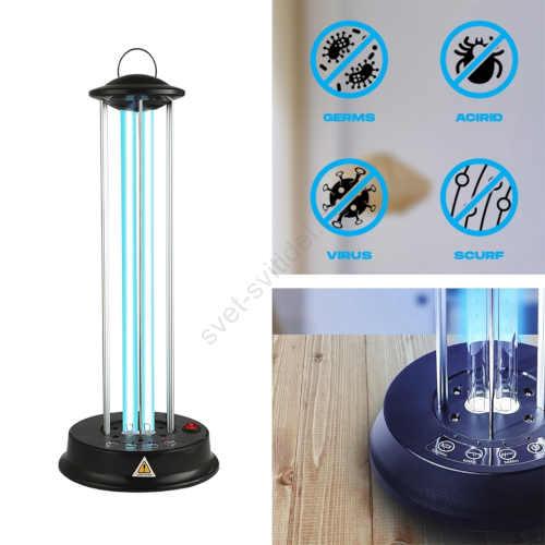 germicidní účinná lampa do interiéru